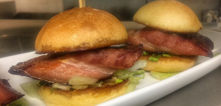 Nueske's Bacon Sliders